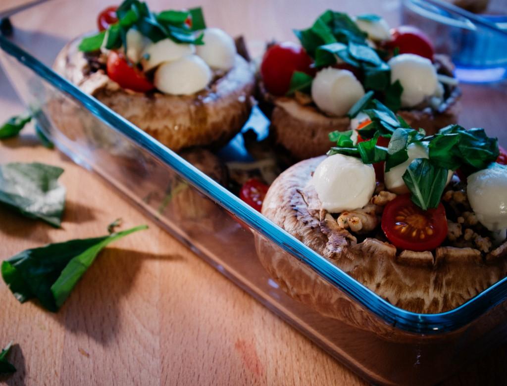Stuffed portobello mushrooms   seefoodplay.com