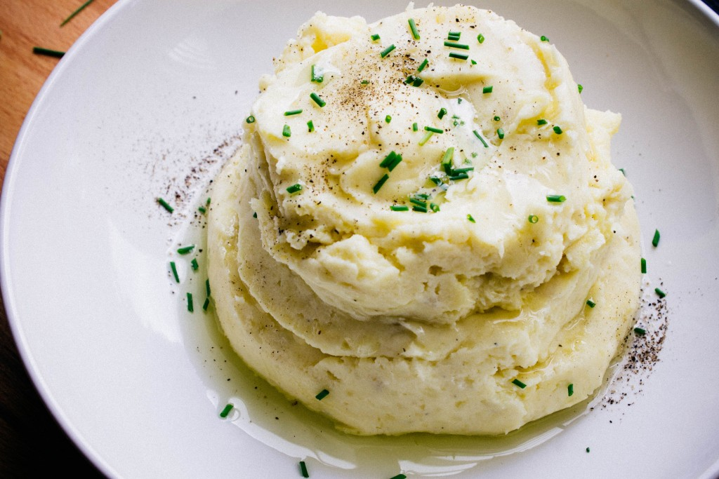 Creamy mashed potatoes | seefoodplay.com