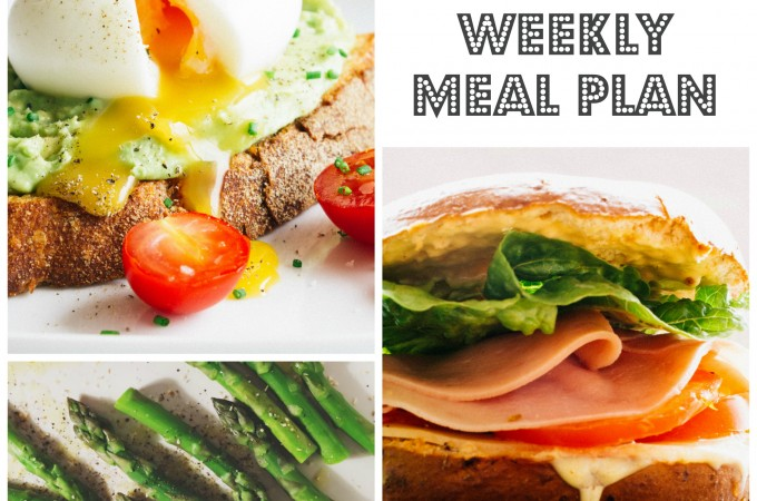 Weekly meal planning: update