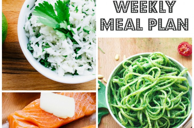 Weekly meal plan collage - 2 august 2015 | seefoodplay