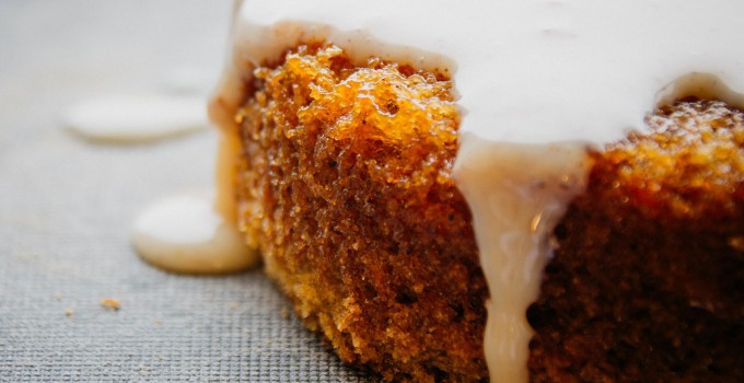 Tres leches carrot cake