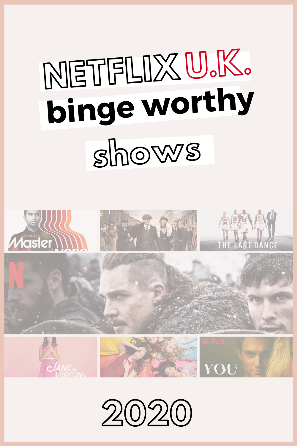 Seefoodplay | MY TOP NETFLIX BINGE WORTHY TV SHOW RECOMMENDATIONS | 2020 UK
