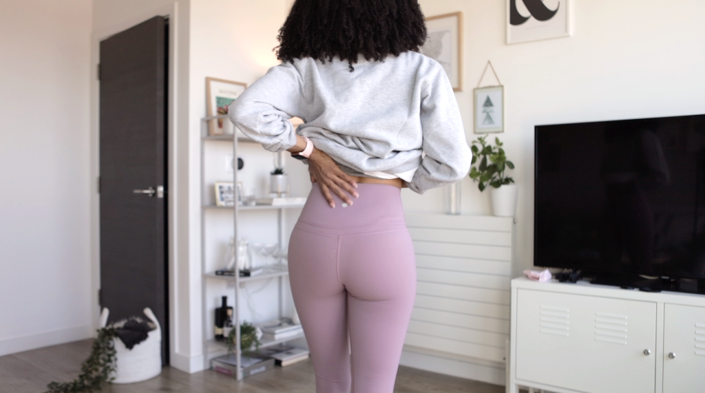 "Seefoodplay | Amazon leggings dupes review | Best Lululemon Align 25"" leggings dupes"