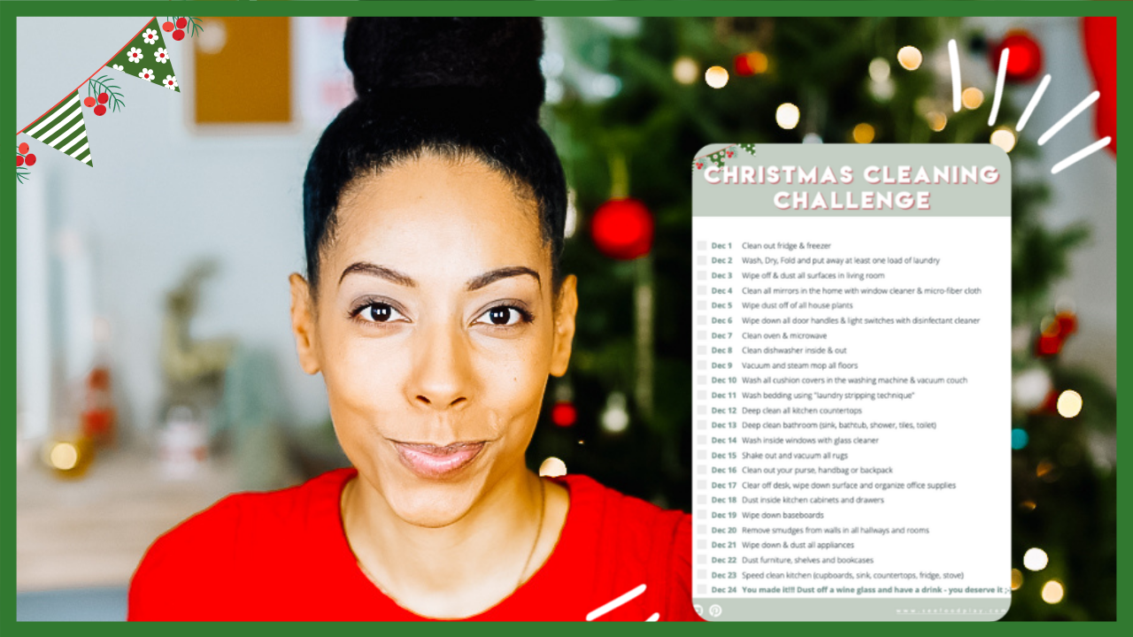 Veronica from SEEFOODPLAY | Christmas Cleaning Challenge & Checklist