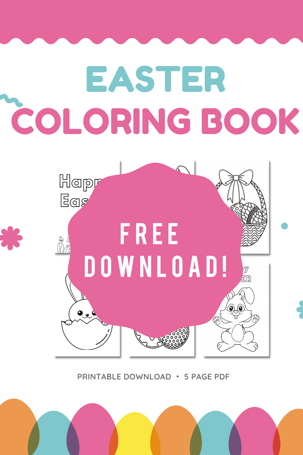 Veronica from SEEFOODPLAY   FREE EASTER COLORING PAGES