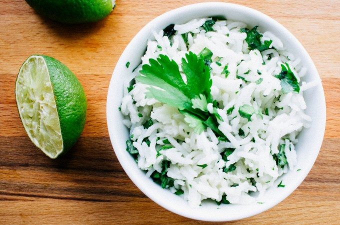 Cilantro lime rice| seefoodplay.com