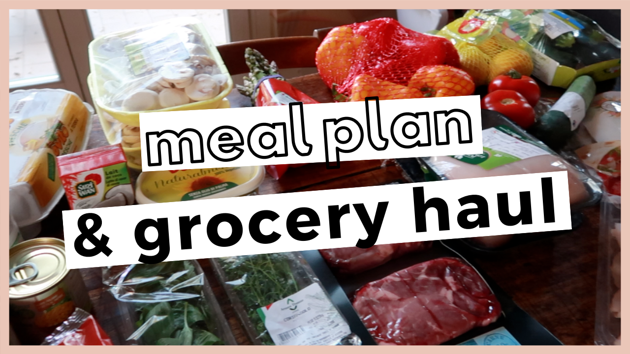 Seefoodplay | Grocery haul + meal plan