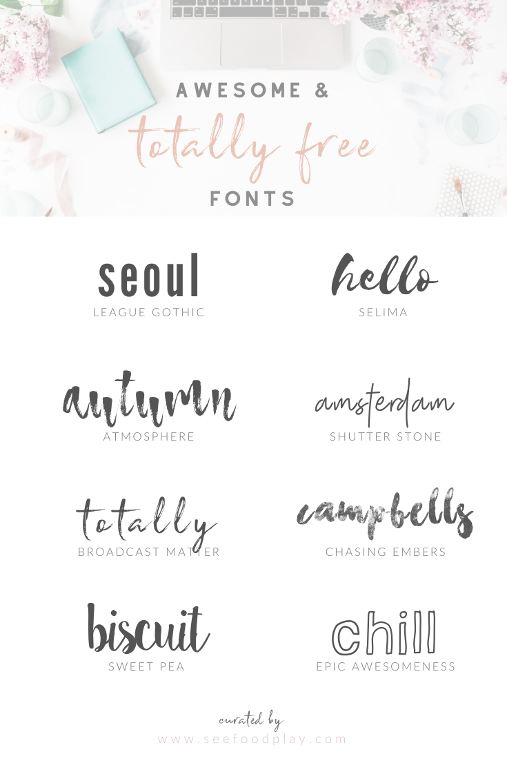 Seefoodplay | Best free fonts round-up