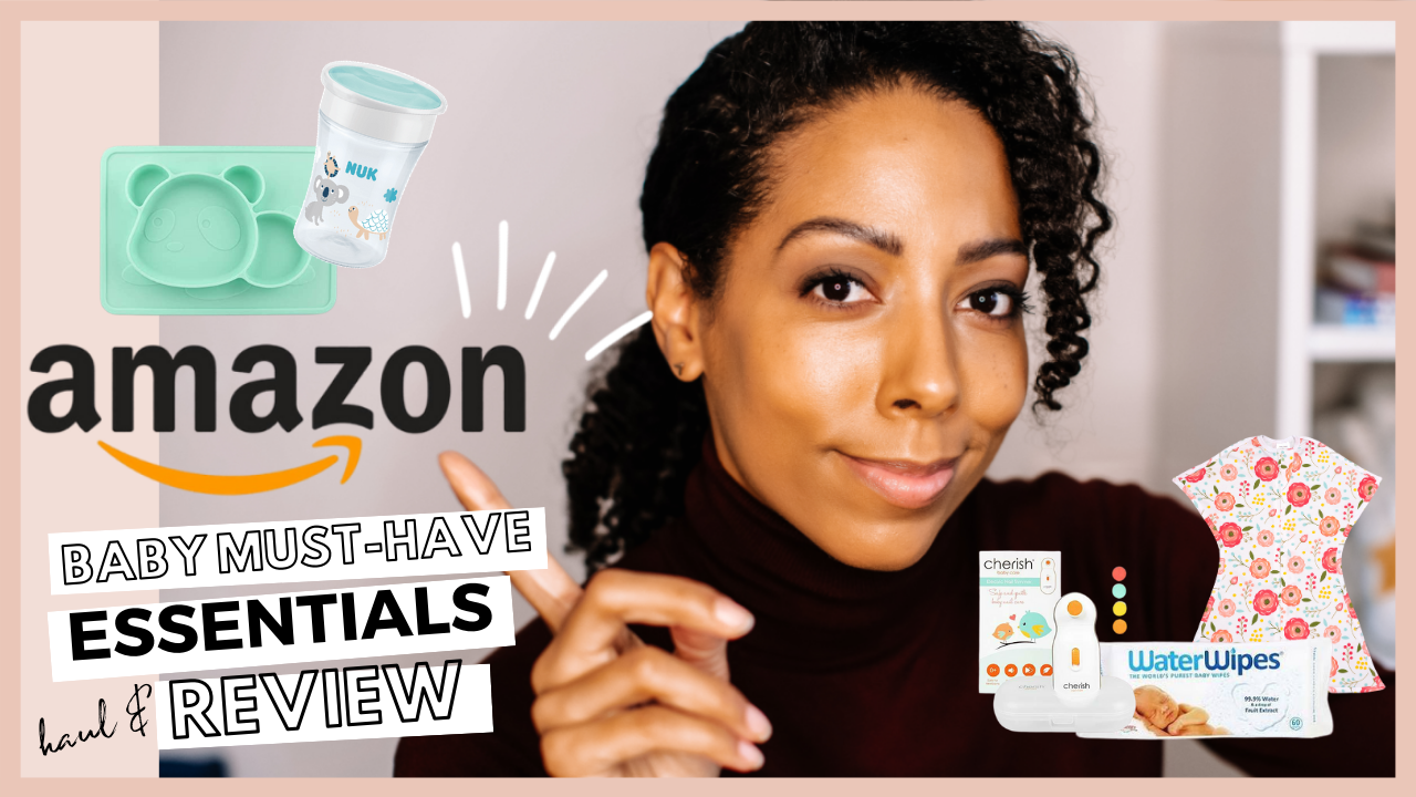Veronica from SEEFOODPLAY | Amazon haul baby essentials